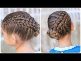 Zipper Braid Updo   Cute Girls Hairstyles