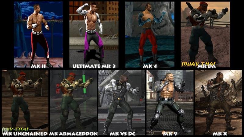 Mortal Kombat JAX BRIGGS Graphic Evolution 1993-2015   ARCADE PSX PS2 PSP XBOX PC   PC ULTRA
