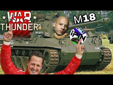 М18 танк западло и обновление 1.81 War Thunder. Смотрим как весело умирать от вертолётов