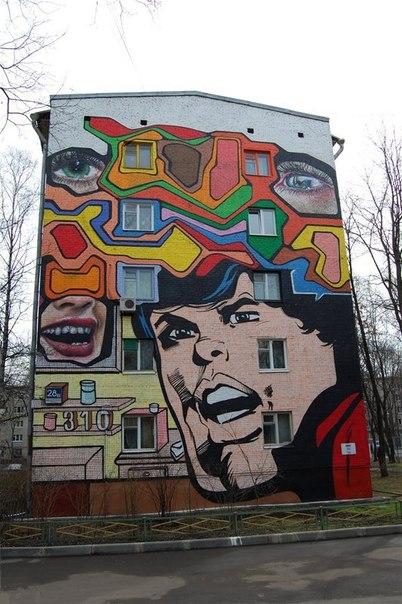 Граффити и рисунки карандашом