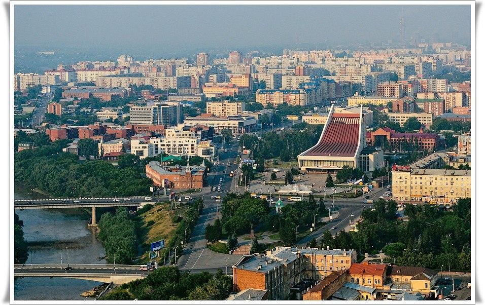 Центр Омска - фото города Омска.