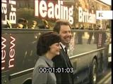 1990s Tony Blair, Leading Britain New Labour New Britain Bus