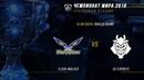 FW vs G2 — ЧМ-2018, Групповая стадия, День 6, Игра 3