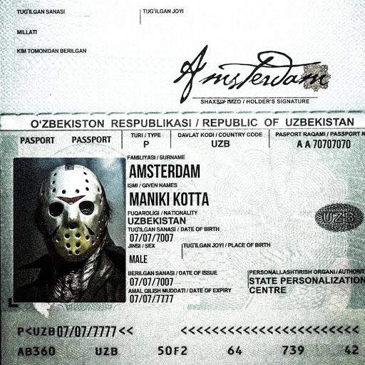Amsterdam альбом Maniki Kotta