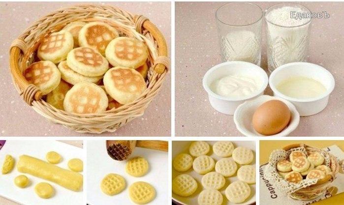 Самые легкие рецепты печенья
