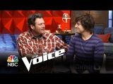 Blake + The Band Perry The Battles and the Mullet Return (The Voice Interview)