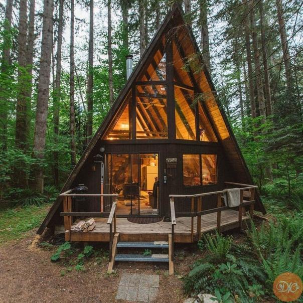 Дoм в лесу)