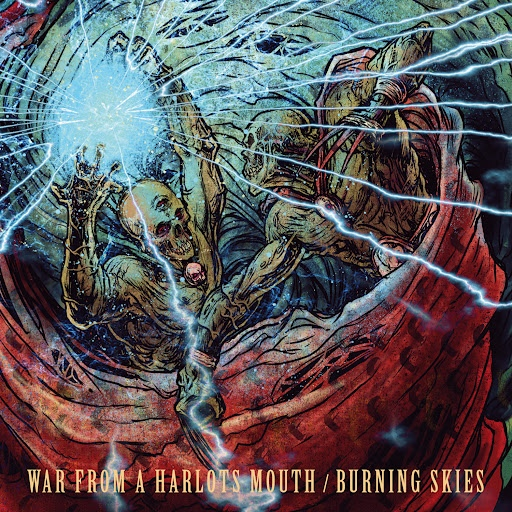 War From A Harlots Mouth альбом Split