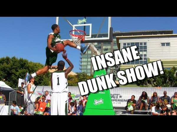 One of the Best Dunk Shows Ever! Raw 2013 BET Experience Dunks!