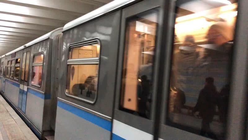 Русич на станции Проспект Вернадского