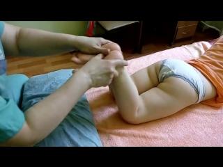 Вальгусная деформация ног Массаж флк можно делать дома