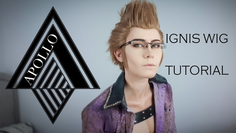 FFXV: Ignis Wig Tutorial