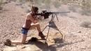 Girl shoots Barrett .50 BMG and AR15