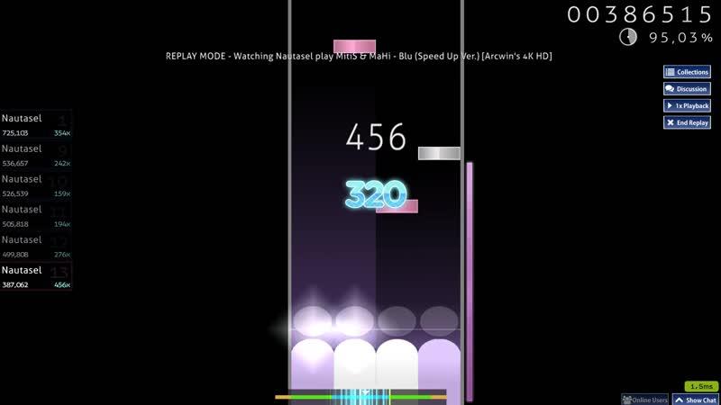 MitiS MaHi - Blu (Speed Up Ver.) [Arcwin's 4K HD] Pass A