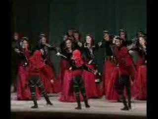 "Georgian folk dance ansamble ""GIORGOBA"" - ""Acharuli Gandagana"""