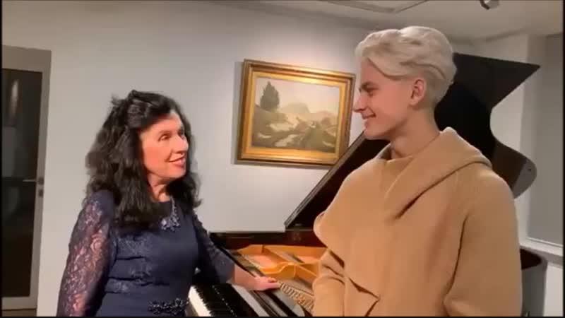 Поддержка Ильдару на WoD от известной польской пианистки Марии Сильвы