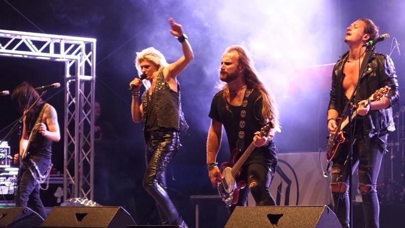 KISSIN' DYNAMITE - She came she saw (Live), Rock im Hinterland 2018