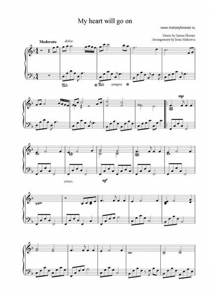Ноты для фортепиано о боже какой мужчина » Ноты — нужные Вам ноты ...