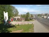 Открытие нового памятника Герою Советского Союза Анне Никандровой в Парке Воинской Славы в Дубровно на 9 мая