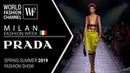 Prada | Spring-summer 2019 Milan fashion week