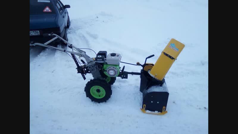 ТМК Жердевка приставка снегоуборочная к мотоблоку