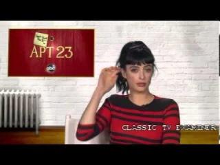 Krysten Ritter -- Don't Trust The B in Apt 23 Interview 11/19/12