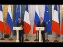 2018,05,25 Европа устремилась к России: западная пресса бурно обсуждает встречу Путина и Макрона