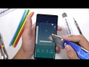 Тест на прочность Samsung Note 9