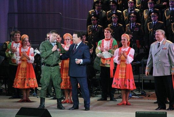 Иосиф Кобзон и Александр Захарченко поют дуэтом