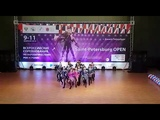 Формейшн женщины ELITE TEAM acrobatic rock-n-roll акробатический рок-н-ролл