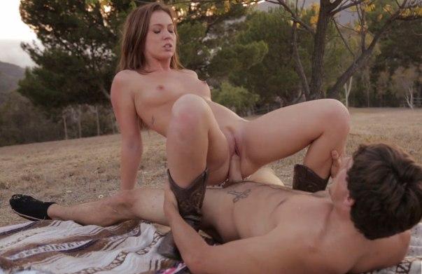 Порно на романтическом свидании