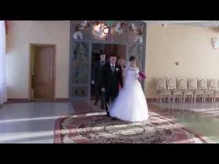 Свадебный видеоклип. Дмитрий и Оксана. Маленькая история большой любви.