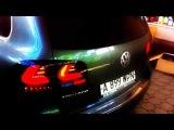 Dectane rear lights, LED
