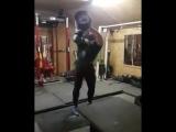 Матеуш Келишковский (Польша), попытка поднять гантель - 147 кг (почти удалось)💪, подготовка на АК - 2018💪