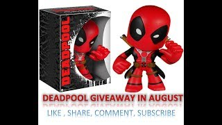 Deadpool Giveaway Amazon Marvel Collectors Corp Deadpool Unboxing August