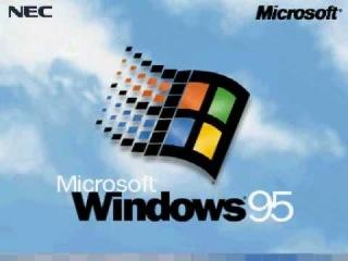 なつかしのWindows95再現ムービー [ Microsoft Windows 95 Operating System ]