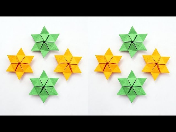Cool Paper Origami STAR Tutorial DIY