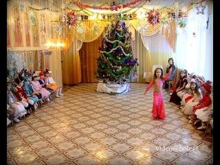 Танец на Новогоднем утреннике (Мариуполь)