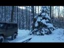 УАЗ на вояках с редукторами трактора т-40 Летающие УАЗы в зимнем лесу, очень инт