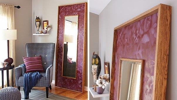 Как сделать зеркало с рамой