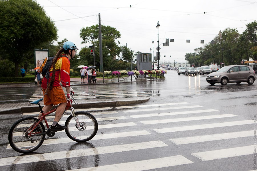 Петербург дождь