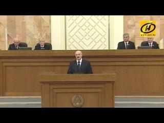 Лукашенко: «Любая пропаганда насилия будет жёстко уничтожена в зародыше»