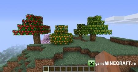Мод На Новые Деревья В Майнкрафт 1.7.10 - skachivayusub