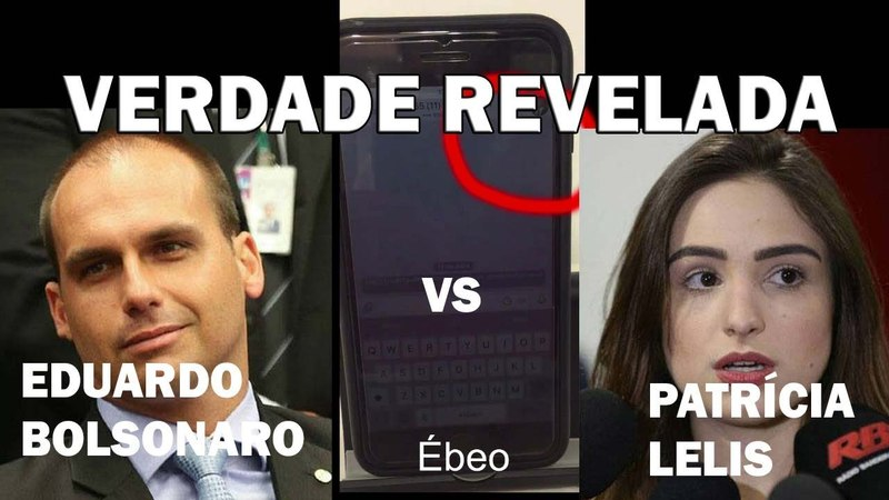 VERDADE REVELADA no caso Patrícia Lelis Mitomaníaca contra Eduardo Bolsonaro