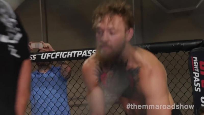 Как Конор работает над борьбой