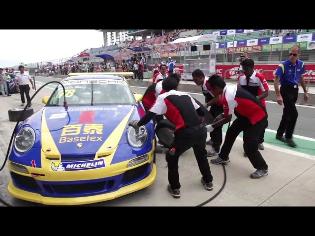 Porsche Carrera Cup Asia Ordos International Circuit