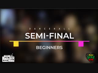 SEMI-FINAL DANCEHALL (BEG) / ОБУХОВА (win) vs ЛУКЬЯНОВА / USG GUEST WEEKEND