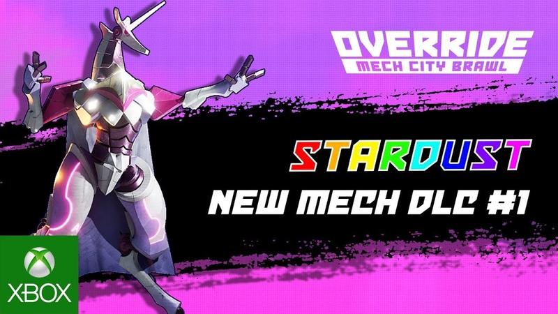 OVERRIDE MECH CITY BRAWL –Mech DLC 1 Stardust