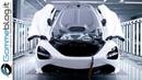 McLaren Automotive HOW IT'S MADE a Supercar PRODUCTION FACTORY