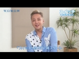 JKS' message in WOWOW promotional video